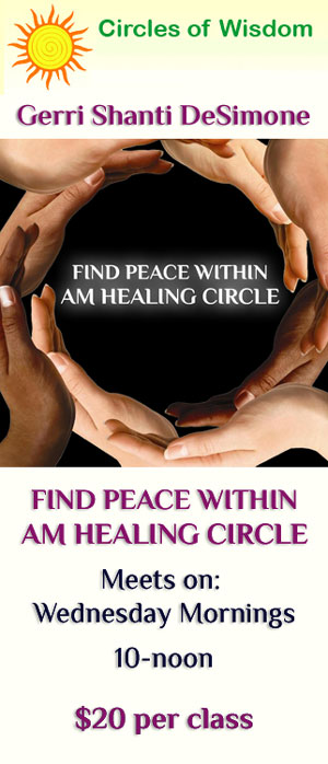 FIND PEACE WITHIN AM HEALING CIRCLE